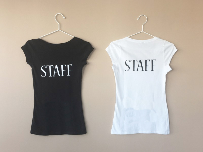 La stampa di t-shirt personalizzate di Seriprint Milano